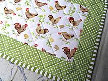 Úžitkový textil - Sliepočky... prestieranie 2 ks - 13076968_