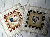 Úžitkový textil - Kohúti z Provence... No.2 - 13077522_