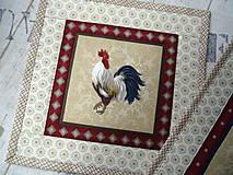 Úžitkový textil - Kohúti z Provence... No.3 - 13077530_