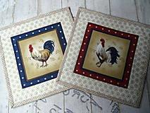 Úžitkový textil - Kohúti z Provence... No.4 - 13077535_