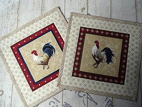 Úžitkový textil - Kohúti z Provence... No.3 - 13077528_