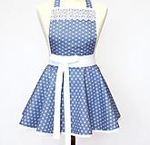 Detské oblečenie - detská zásterka Modrá - 13078032_