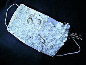 Rúška - Svadobné rúško pre nevestu - 13078217_