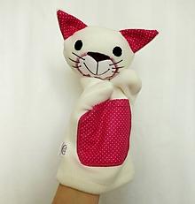 Hračky - Maňuška mačka - Mici zo Sladkého pelieška - 13076280_