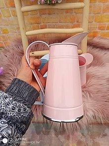 Nádoby - Džbánik ružový 20,5cm - 13077461_