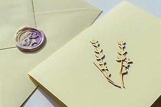 Papiernictvo - Pohľadnica - Flowery - 13078024_