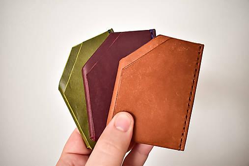 Peňaženky - handmade kompaktná peňaženka do vrecka - 13076592_