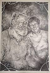 Kresby - Portrét na objednávku - Originál Kresba - 13078019_