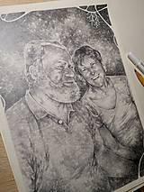 Kresby - Portrét na objednávku - Originál Kresba - 13078021_