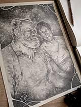 Kresby - Portrét na objednávku - Originál Kresba - 13078022_