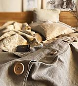 Úžitkový textil - Ľanové obliečky Michaela - 13077596_