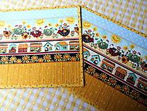 Úžitkový textil - Na vidieku... prestieranie - 13082459_