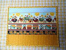 Úžitkový textil - Na vidieku... prestieranie - 13082462_
