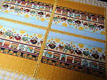 Úžitkový textil - Na vidieku... prestieranie - 13082467_
