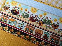 Úžitkový textil - Na vidieku... prestieranie - 13082591_