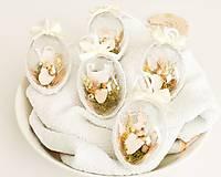 Dekorácie - Veľkonočné vajíčka 5 ks - 13081229_