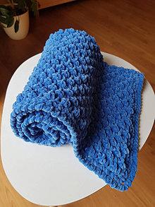 """Textil - Hebká """"bublinková"""" deka pro miminko (Modrá) - 13082635_"""