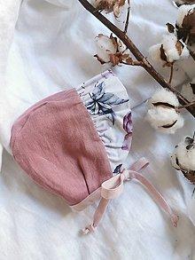 Detské čiapky - Čepček pre dieťatko - skladom - 13081543_