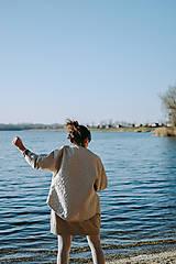 Kabáty - Kabátik Nomad - Béžový - 13082718_