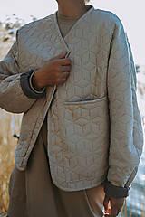 Kabáty - Kabátik Nomad - Béžový - 13082721_
