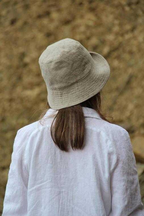 Čiapky - BUCKEThat klobúk natural - 13086214_
