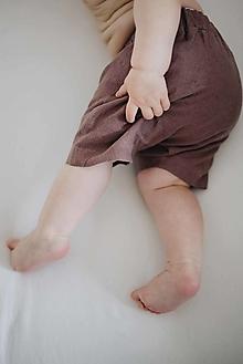 Detské oblečenie - AMÉLIA kraťasky slivkové - 13087366_
