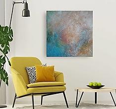 Obrazy - Abstrakcia AQW 60x60 - 13088785_