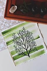 Kresby - Iba jeden strom - originál - 13088281_