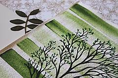 Kresby - Iba jeden strom - originál - 13088282_