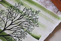 Kresby - Iba jeden strom - originál - 13088284_
