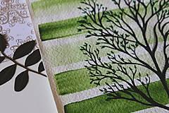 Kresby - Iba jeden strom - originál - 13088285_