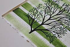 Kresby - Iba jeden strom - originál - 13088286_