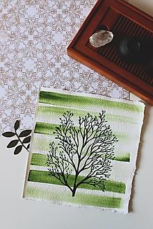 Kresby - Iba jeden strom - originál - 13088283_