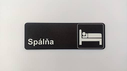 Spálňa - tabuľka na dvere/stenu