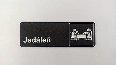Tabuľky - Jedáleň - tabuľka na dvere/stenu - 13084671_
