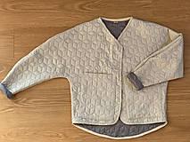 Kabáty - Kabátik Nomad - Béžový - 13085072_