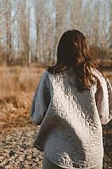 Kabáty - Kabátik Nomad - Sivý - 13085101_