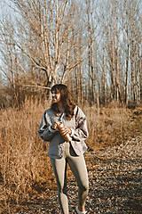 Kabáty - Kabátik Nomad - Sivý - 13085102_