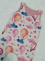 Detské oblečenie - Tepláčiky na traky balón - 13088738_