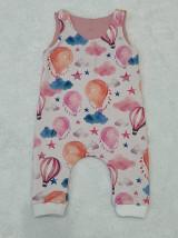 Detské oblečenie - Tepláčiky na traky balón - 13088753_