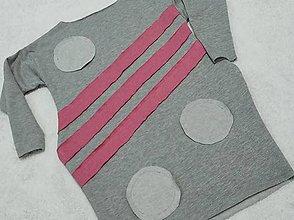Detské oblečenie - Šatky s kruhmi - 13088938_