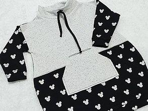 Detské oblečenie - Šatky s myšiakom 🤗 - 13088950_