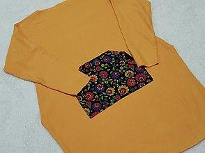 Detské oblečenie - Šatky s folk vačkom - 13088973_