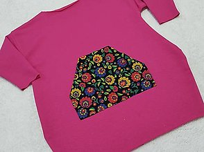 Detské oblečenie - Šatky s folk vačkom 1 - 13089029_