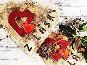 Socha - Srdce s nápisom - 13084863_