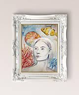 Obrazy - Originálna maľba-Život v bubline - 13085686_
