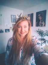 Ozdoby do vlasov - Mosadzná rozprávková koruna - Devanka - 13094470_