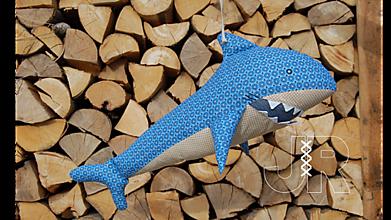 Hračky - žralok - 13091426_