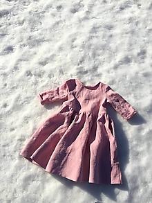 Detské oblečenie - ZOJA šaty pinky mood - 13096527_