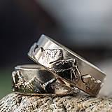 Prstene - Láska hory prenáša ... /verzia v zlate/ - 13097772_